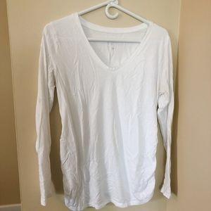 Isabel Maternity by Ingrid & Isabel Tops - 4 Isabel Maternity Long Short Sleeve Shirts Tee